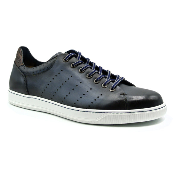 65-201-NVY RUSSO Burnished Italian Calfskin - Navy