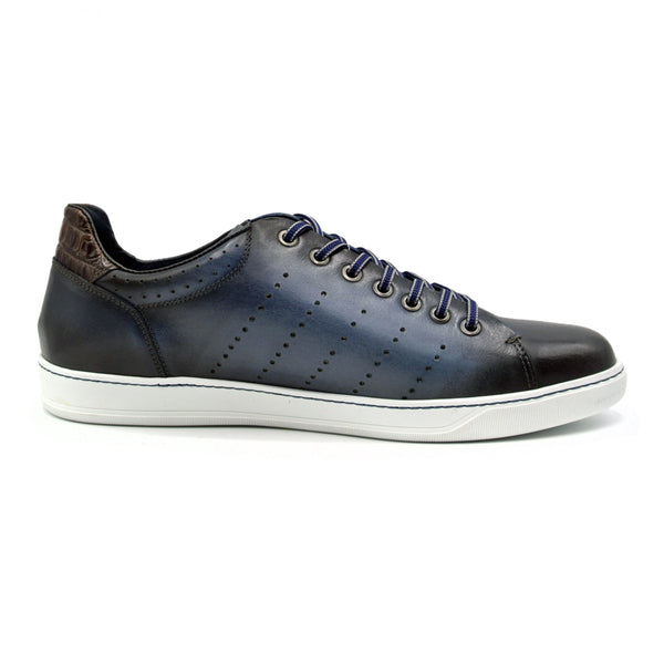 RUSSO Burnished Italian Calfskin - Navy