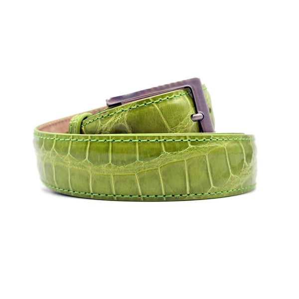 70-100-APL ALLIGATOR Belt, Apple