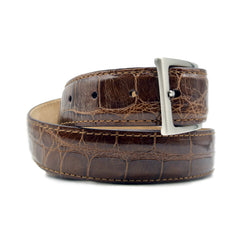 70-100-CGN ALLIGATOR Belt, Cognac