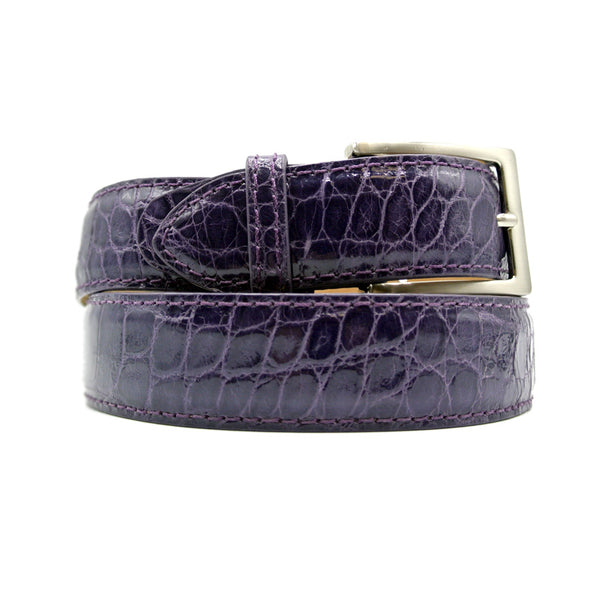 70-100-DPR ALLIGATOR Belt, Dark Purple