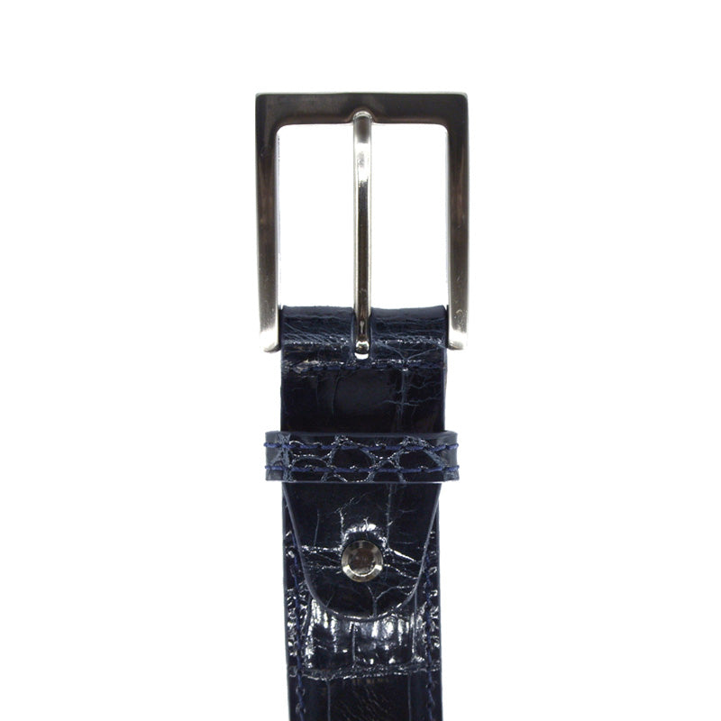 70-100-NVY ALLIGATOR Belt, Navy