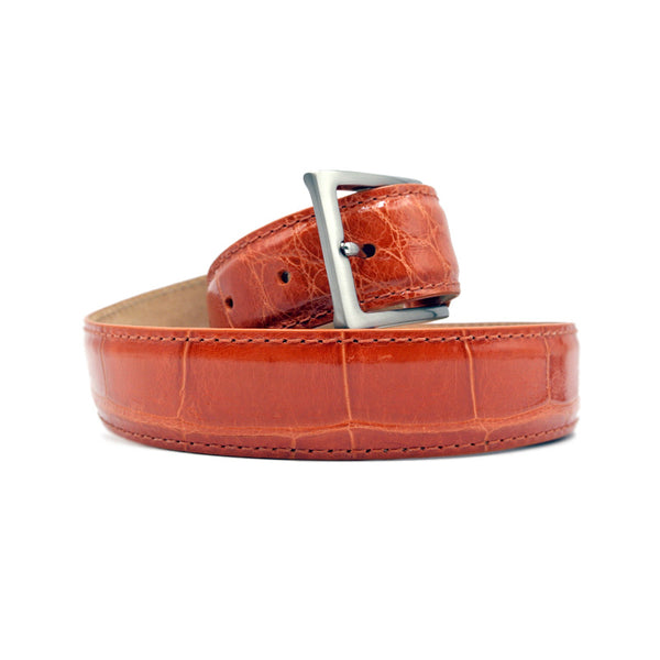 70-100-ONG ALLIGATOR Belt, Orange
