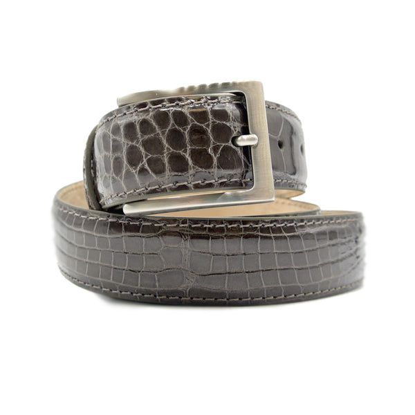 ALLIGATOR Belt, Taupe