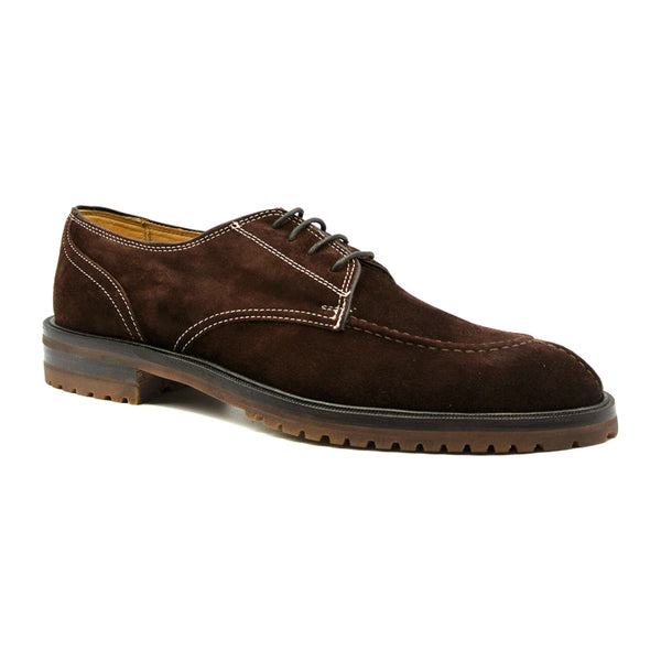 700CHOC THE GRAD Sueded Italian Calfskin Chocolate