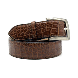 72-700-CGM NILE Crocodile Belt, Cognac