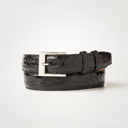 Crocodile Belt - Black