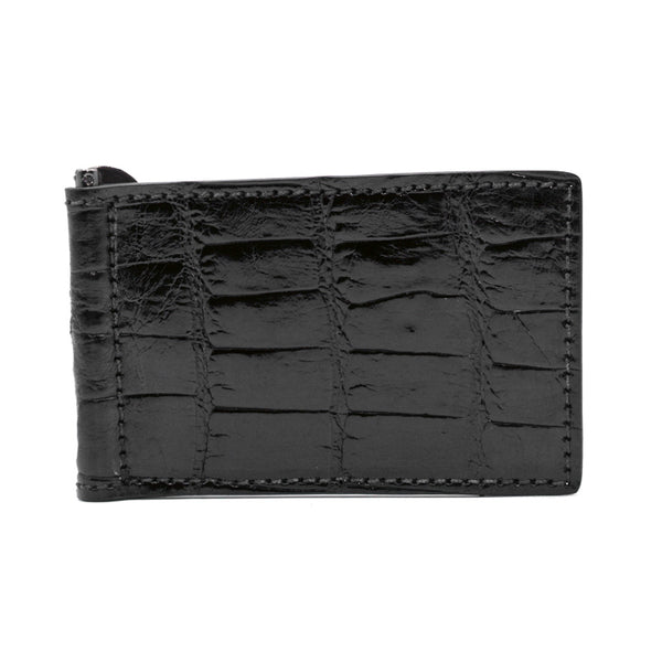 81-530-BLK ALLIGATOR Money Clip Black