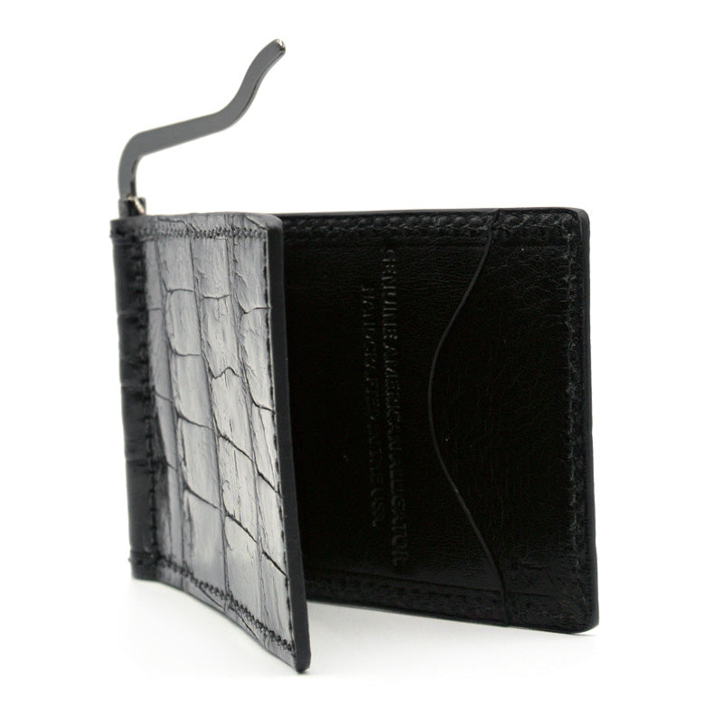ALLIGATOR Money Clip Black