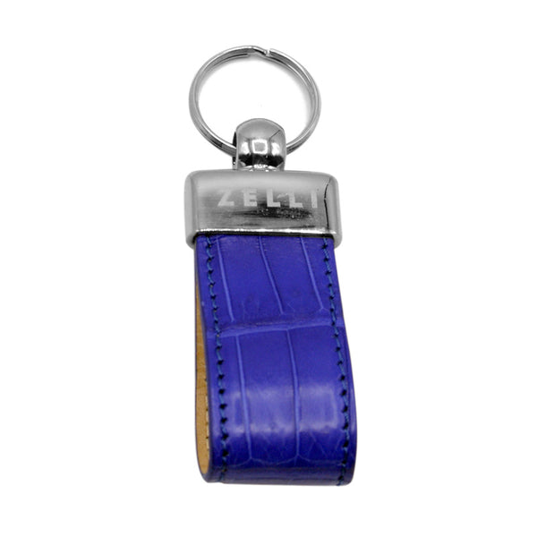 81-750-COB Crocodile Key Loop, Cobalt
