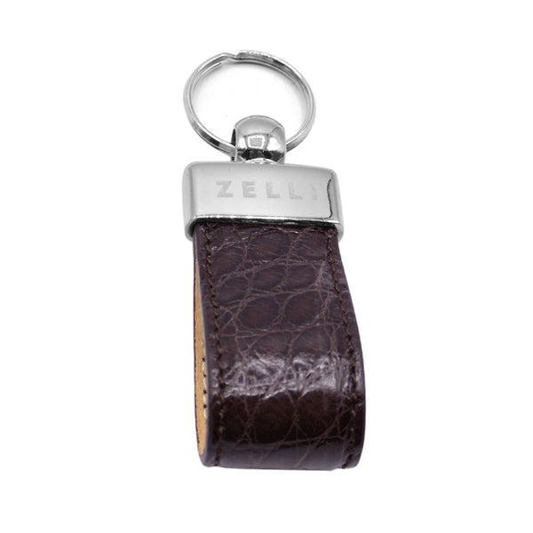 81-750-WAL Crocodile Key Loop, Walnut