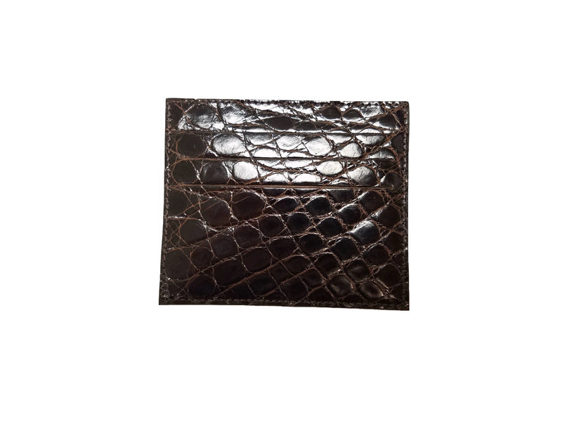 O-81-550 Caiman Card Holder-Nicotine