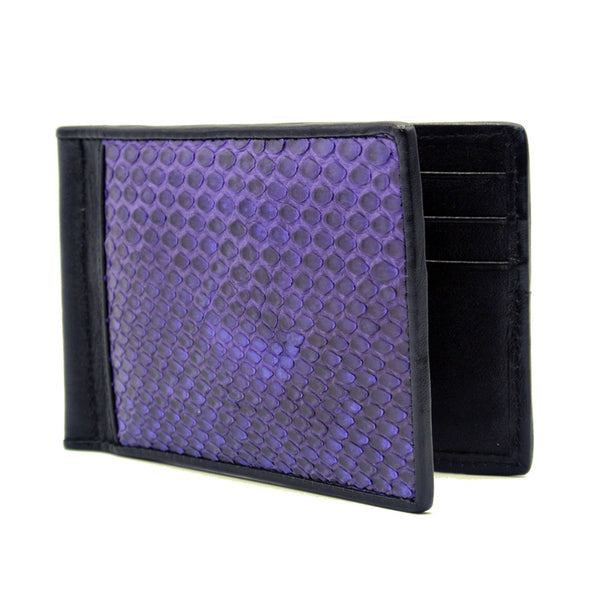 0556PR Python Money Clip, Smoke Purple