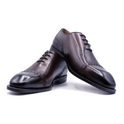 SMPL-CD-001 Calfskin Captoe Derby
