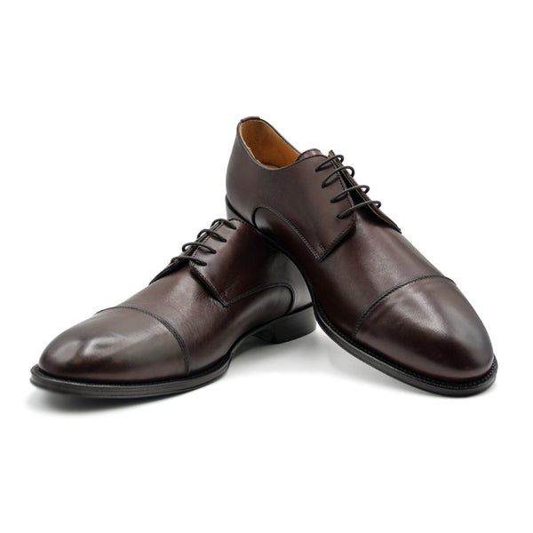 SMPL-CD-014 Calfskin Captoe Derby