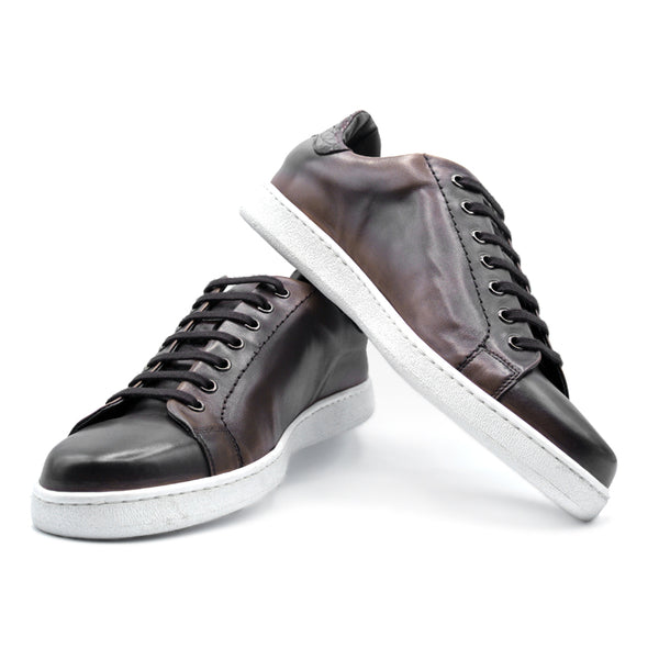 Calfskin with Crocodile Sneaker