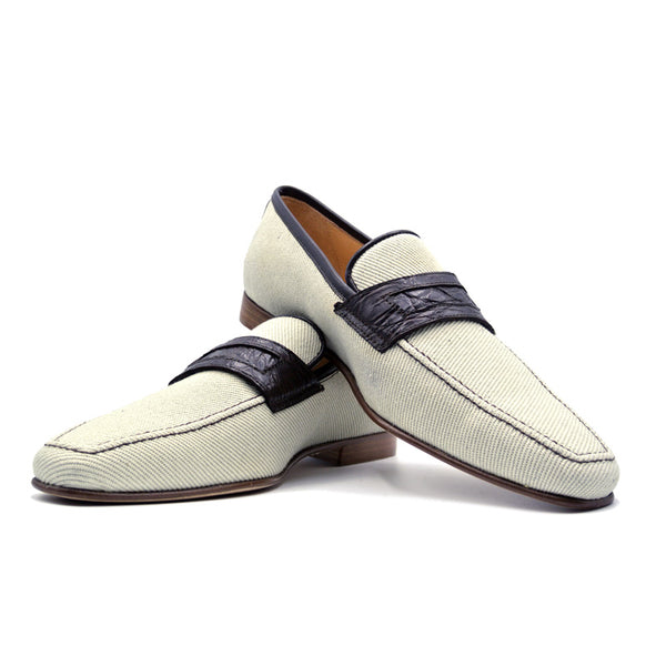 SMPL-SL-010 Woven Twill On Loafer