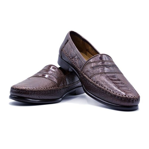 SMPL-SL-013 Ostrich Slip On Loafer