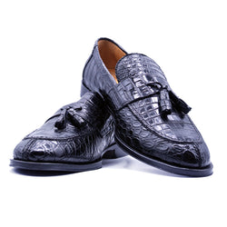 SMPL-TL-030 Crocodile Tassel Loafer