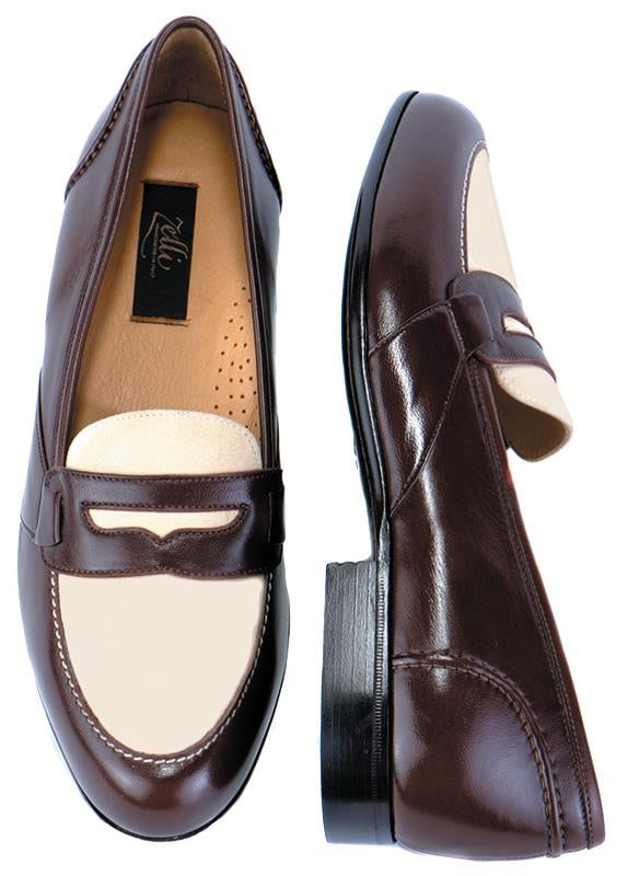MONTE Italian Calf and Suede 9.5 Wide