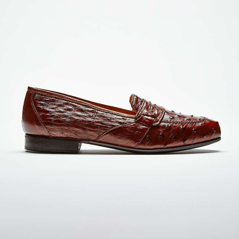 ANGELO Ostrich Brown