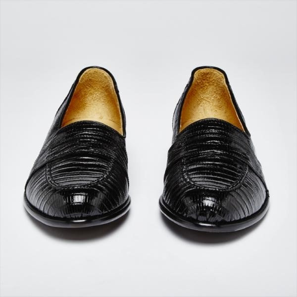 ENCORE Teju Lizard Black 11.5 Narrow