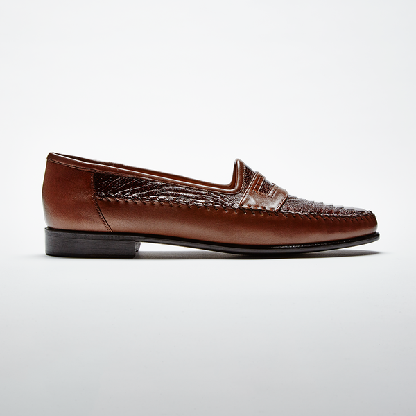 MILANO Ostrich Leg Brown