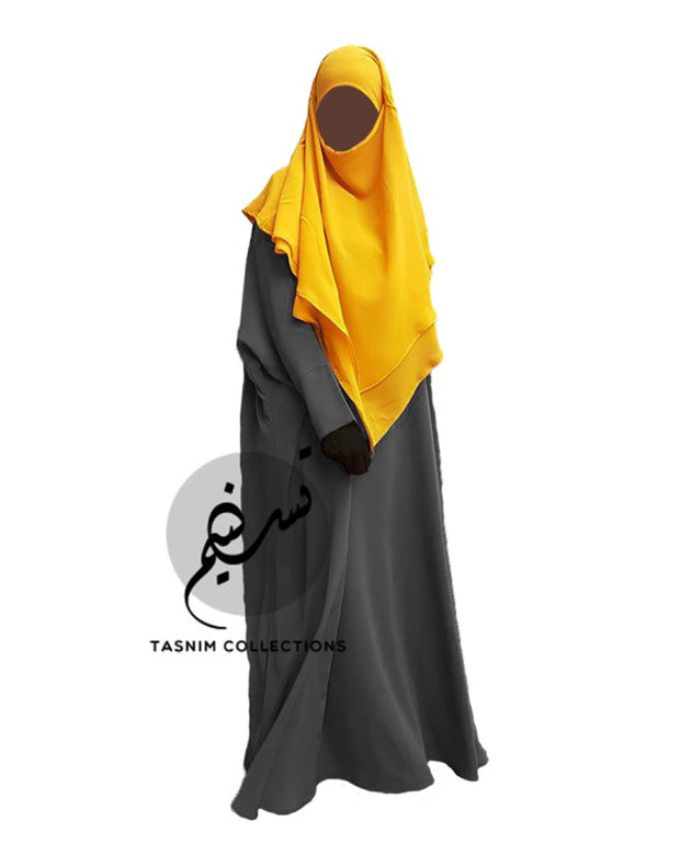 Small Two Layer Chiffon Khimar Amirah