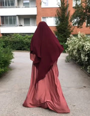 Dip Back Diamond Khimar