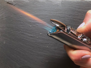 How to refill a butane torch lighter - Video