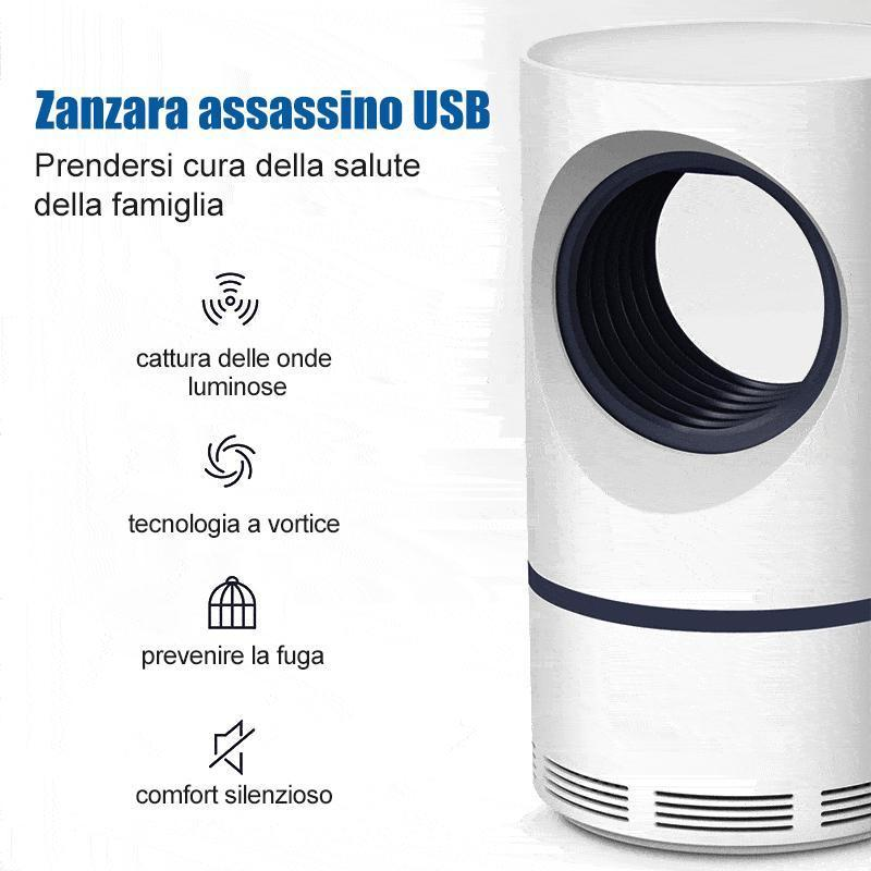 zanzara assassino USB luce fotocatalitica