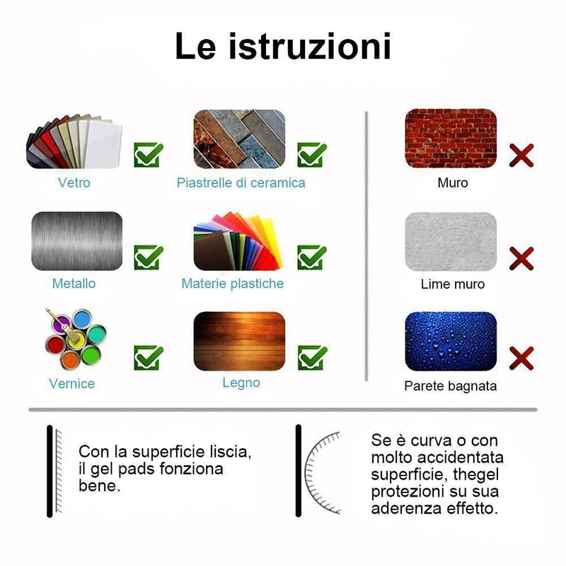 Nano Sticker Magic, 2 pezzi