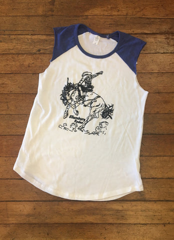 Line Drawing Tank Top