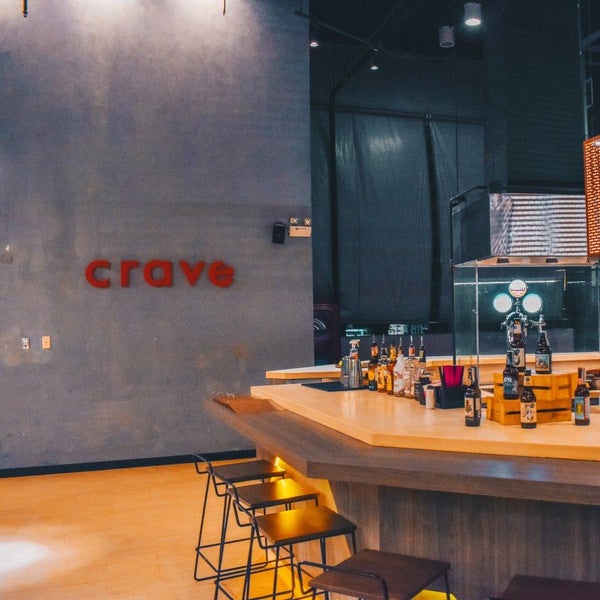 Happy Hour at brews & 'ques by Crave