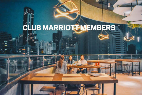 All you can eat (Club Marriott members)
