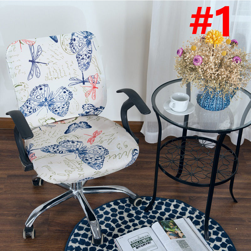 (summer Promotion)Decorative Computer Office Chair Cover-buy 6 free shipping