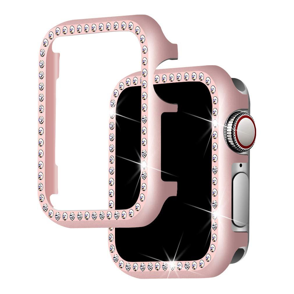 (50% discount)Diamonds Cover with Apple Watch 4/3/2/1