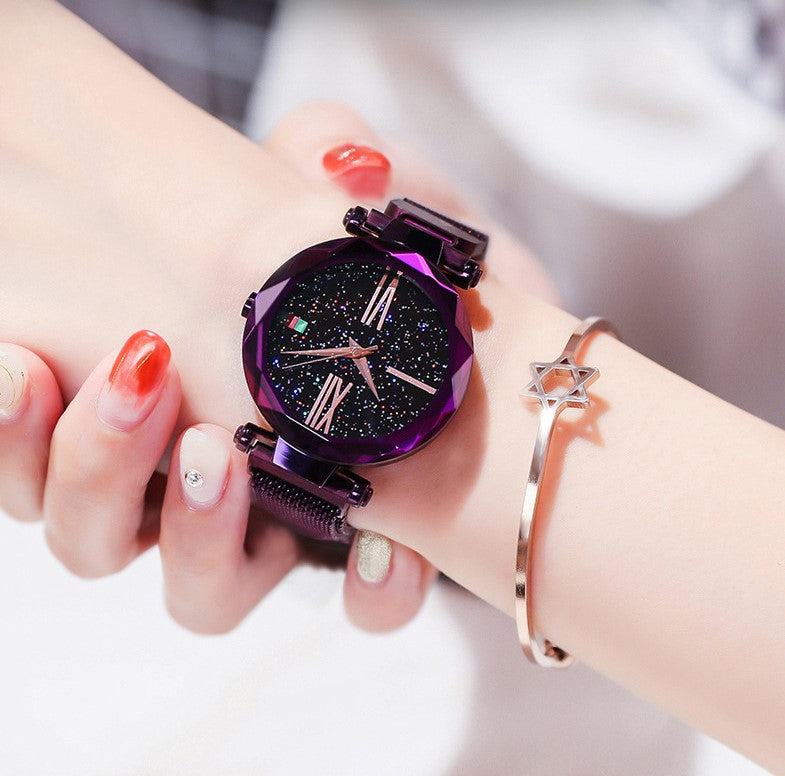 Romantic Starry Sky Ladies Quartz Watch
