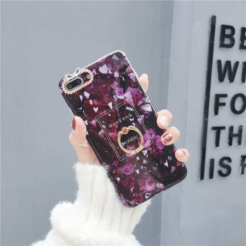 60% off-High-Quality Ring Phone Case For iPhone