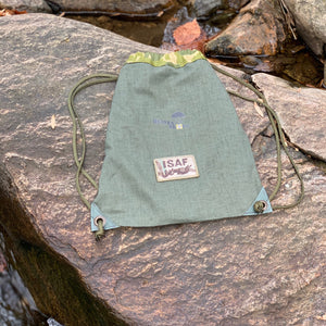 Heavendropt Drawstring Backpack (Korean War Chute)
