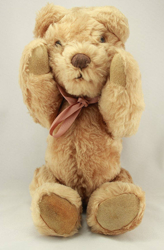 Extremely Rare Collectible Laurel Teddy Bear From Northern California - Laura Wilson Gallery