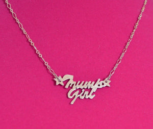 Trump Girl Original Design Necklace - Laura Wilson Gallery