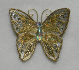 Handmade Magnetic Non Piercing Butterfly Brooches - Laura Wilson Gallery