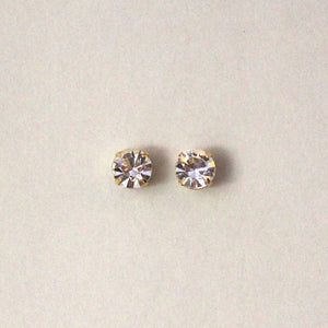 9 mm Round Swarovski Crystal Magnetic Non-Pierced Earrings - Laura Wilson Gallery