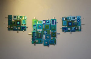 Anodized Aluminum Wall Mosaic On Sale - Laura Wilson Gallery