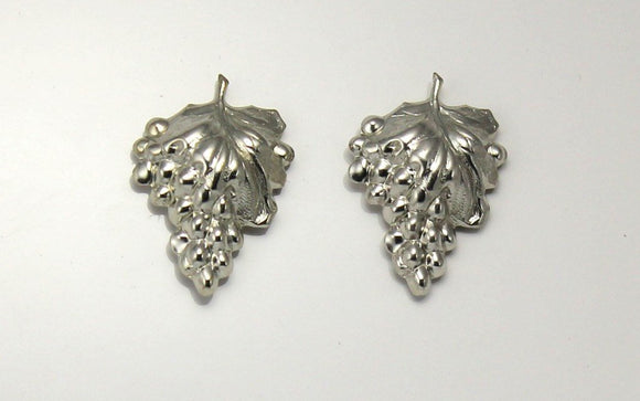 Grape Cluster Magnetic Clip or Pierced Earrings - Laura Wilson Gallery