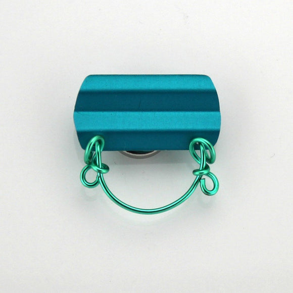 Magnetic Eyeglass Holder in Turquoise - Laura Wilson Gallery