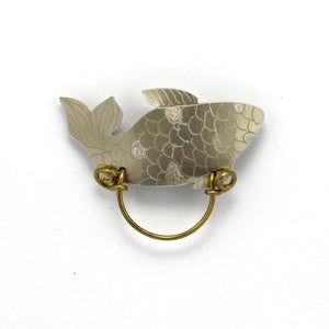 Gold Fish Magnetic Eyeglass Holder - Laura Wilson Gallery