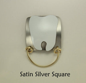 Tooth and Square Magnetic Eyeglass Holder