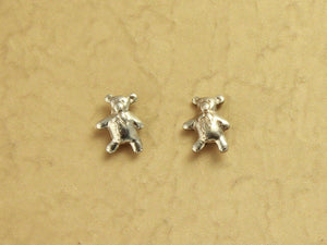 Magnetic Tiny Teddy Bear Earrings - Laura Wilson Gallery